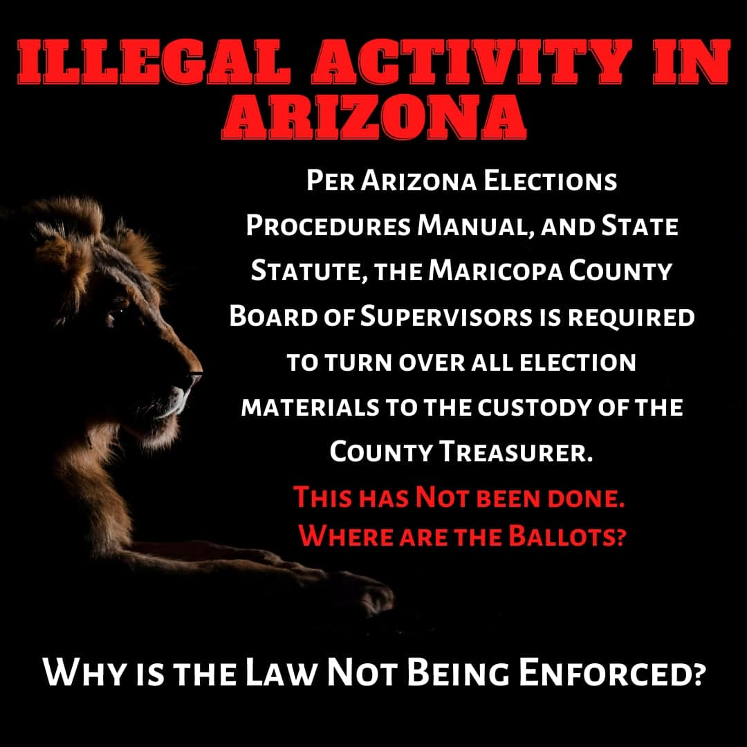 BALLOTS - AZ - WHERE ARE THE BALLOTS - WHY ARENT LAWS ENFORCED - JPEG.jpg