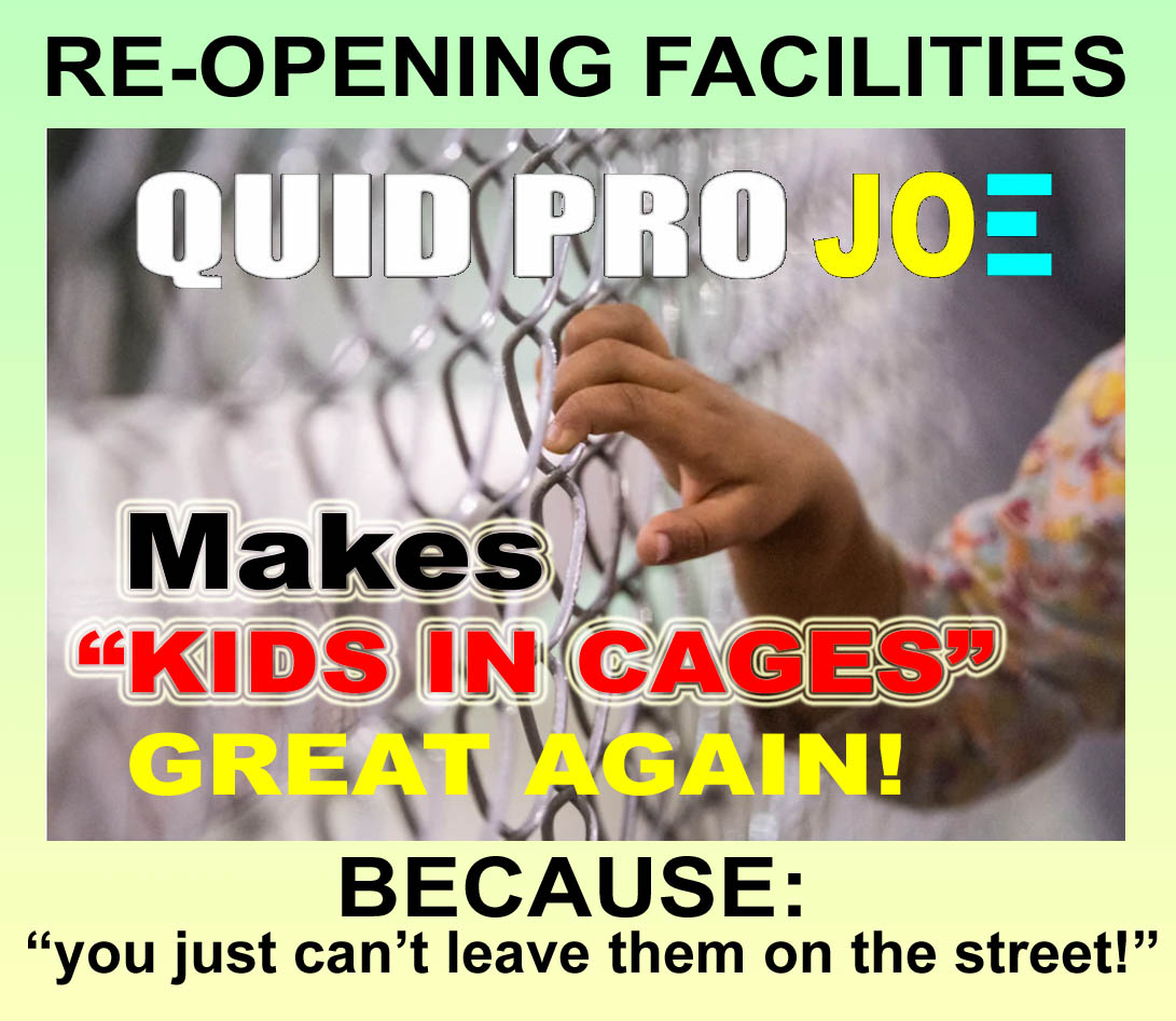 BIDEN - MAKING KIDS IN CAGES GREAT AGAIN - BECAUSE U CANT LEAVE THEM ON THE STREET - JPEG.jpg