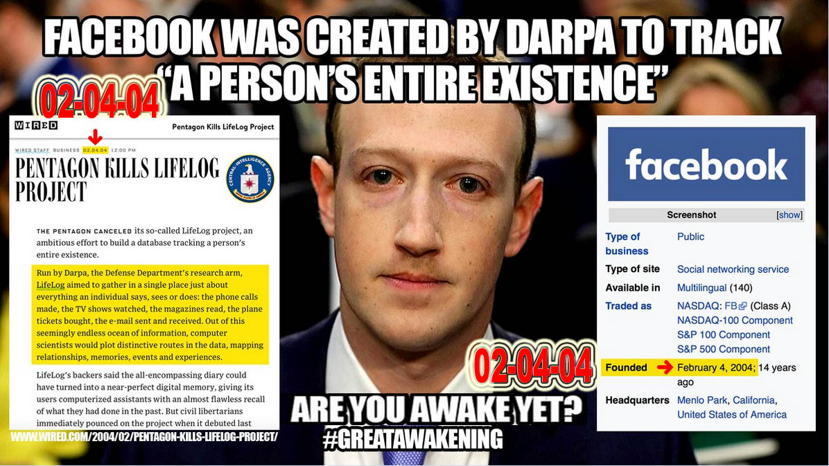 FACEBOOK - AND DARPA - SAME DATES ENDED AND STARTED - AWAKE YET - JPEG.jpg
