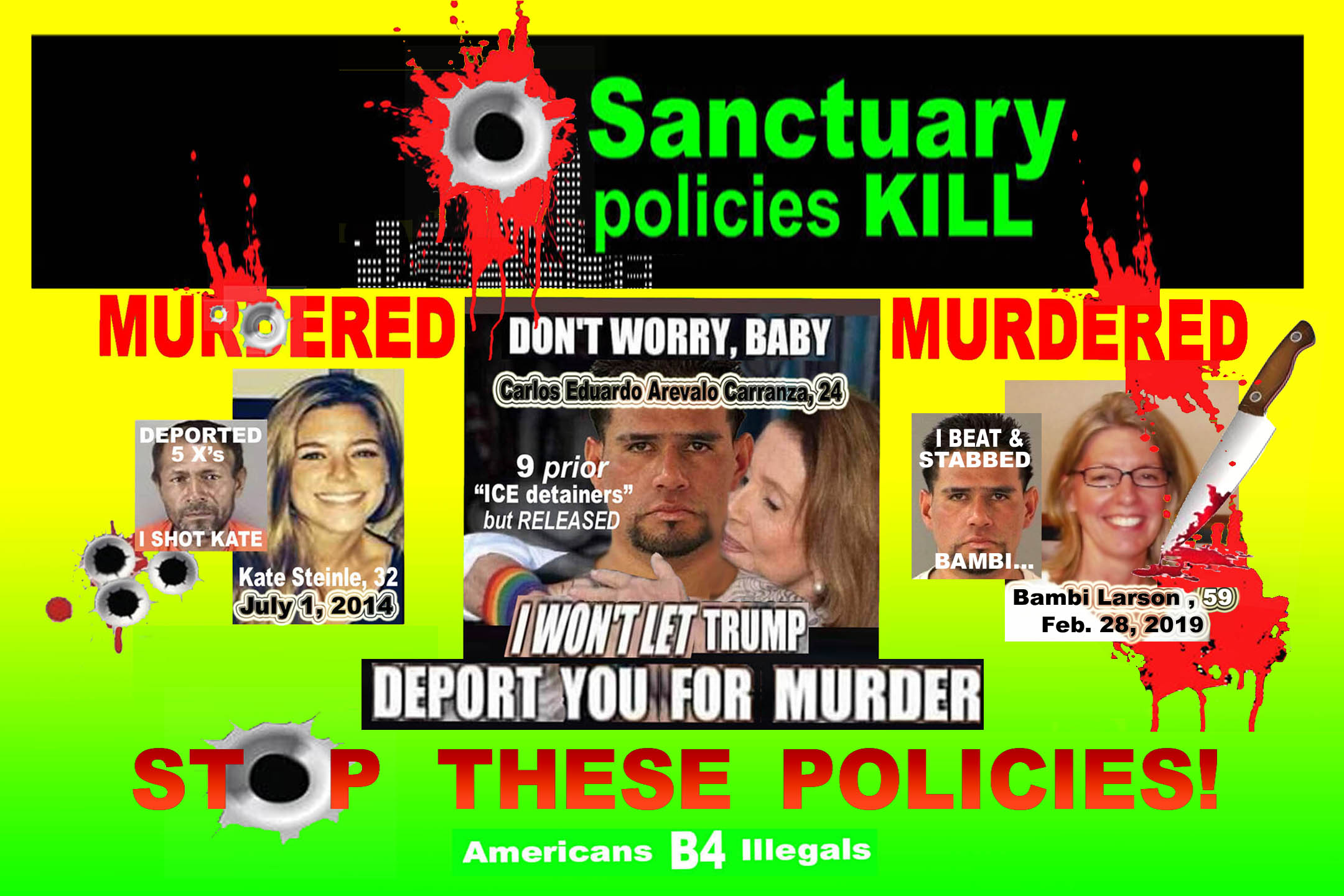 PELOSI - DONT WORRY BABY - 7 - 20 X 30 -  - I WONT LET THEM DEPORT YOU FOR MURDER -  JPEG (2).jpg
