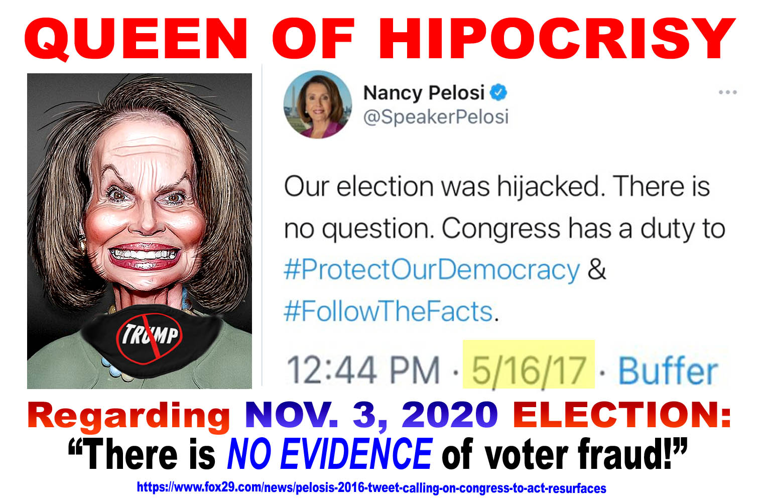 PELOSI - QUEEN OF  HYPOCRISY - JPEG.jpg