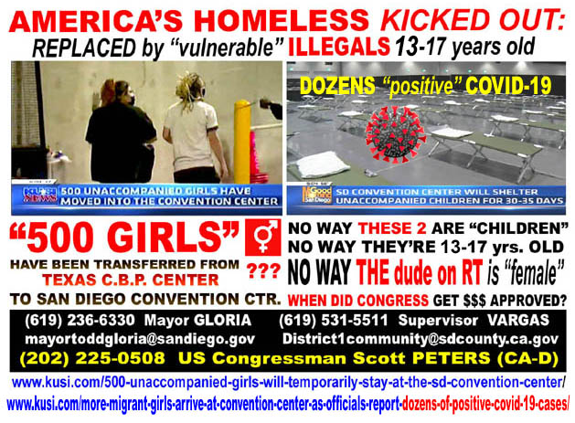 SAN DIEGO CONVENTION CTR - 2021-03-27 -  AMERICAS HOMELESS KICKED OUT - REPLACED BY 14-17 YEAR...jpg