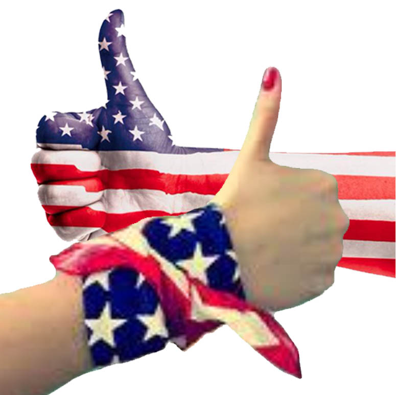 THUMBS UP - PATRIOT HAND - AND   LADY  HAND - JPEG.jpg
